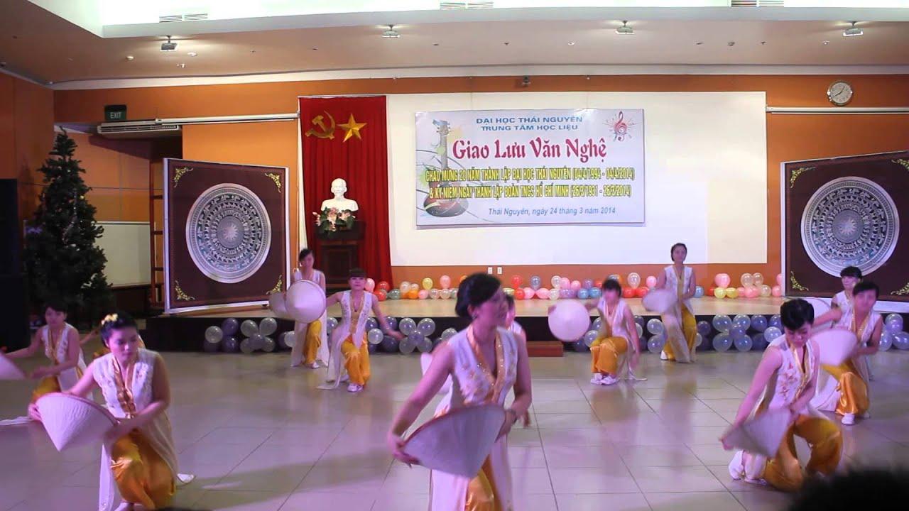Múa: Bài ca cô giáo trẻ – Khoa Quốc tế  – 2014