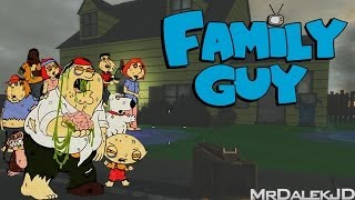 "Custom Zombies ""FAMILY GUY"" - CRAZY WEAPONS! (CoD WaW Custom Zombies)"