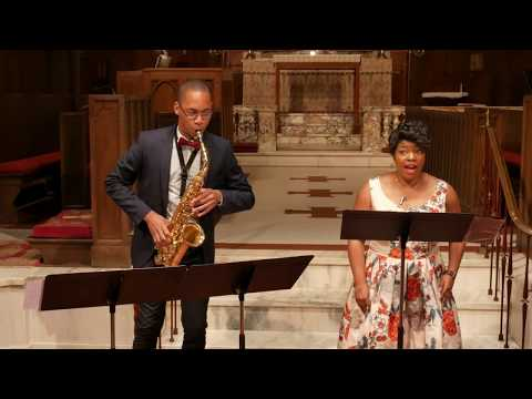 Taylor Boykins and Tyrone Page, Jr., perform Living in the Body by Lori Laitman