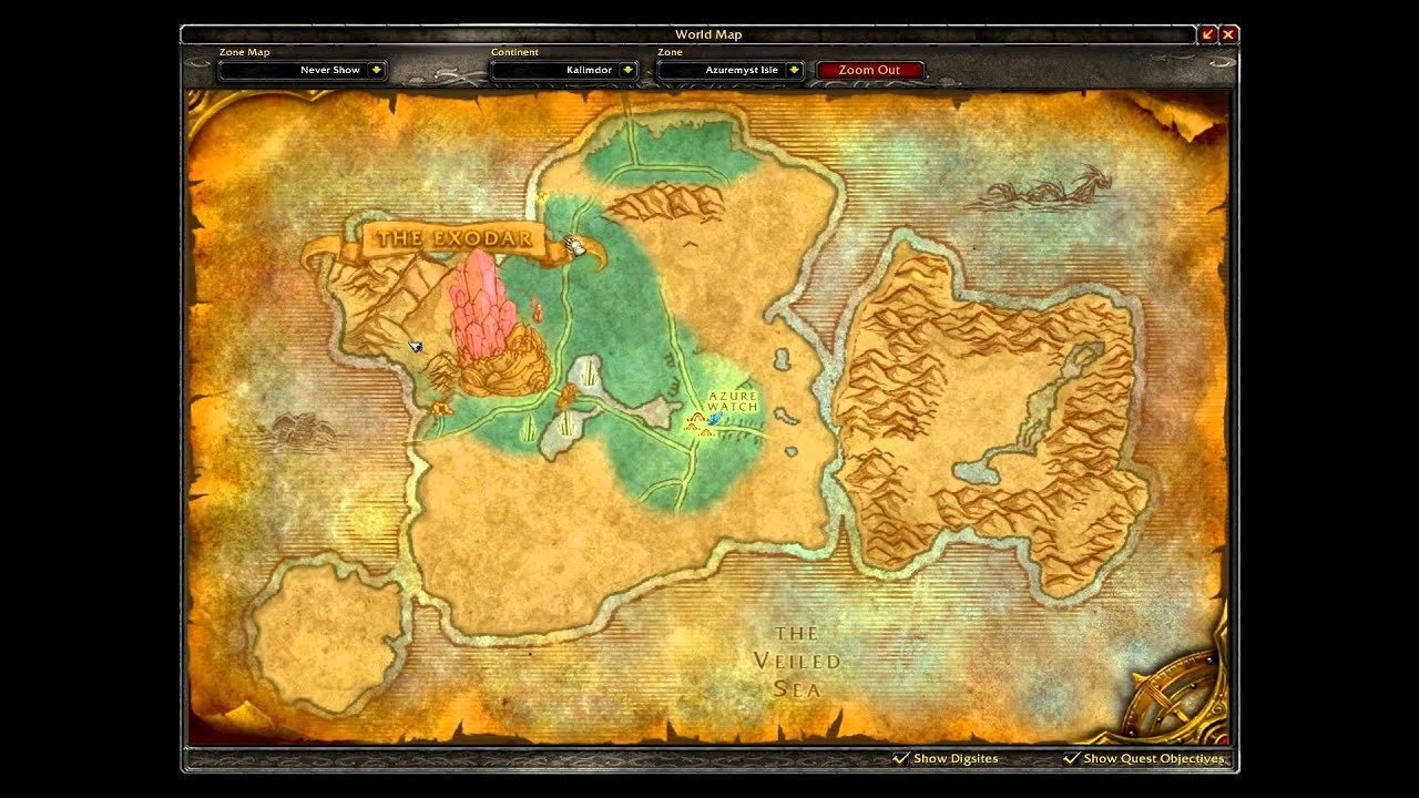 World of Warcraft The Exodar Companion vendor guide - YouTube