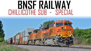 12 Hours on the Transcon - BNSF Chillicothe Sub Special!