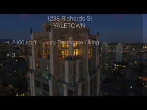 VANCOUVER YALETOWN LUXURY PENTHOUSE - 1238 RICHARDS ST - METROPOLIS YALETOWN  **