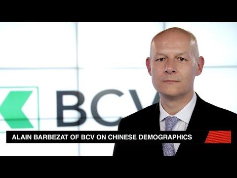Alain Barbezat of BCV on Chinese demographics