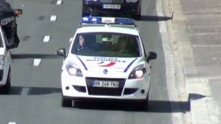 Paris Police Cars // Voitures de Police (Compilation)