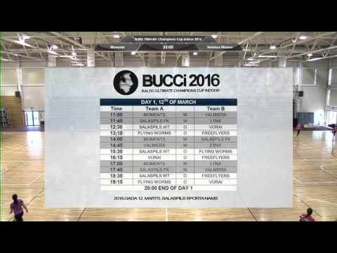 Baltic Ultimate Champions Cup indoor 2016 - Day 1 - Group Stage