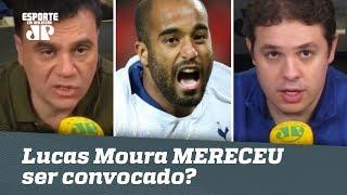 Lucas Moura MERECEU ser convocado à Seleção? DEBATE!