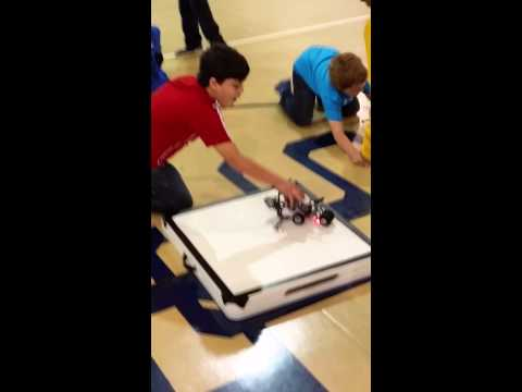 Brazosport Christian School 4th Grade SumoBot Free-For-All