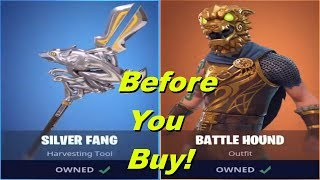 Battle Hound | Silver Fang - Before You Buy - Fortnite Battle Royale
