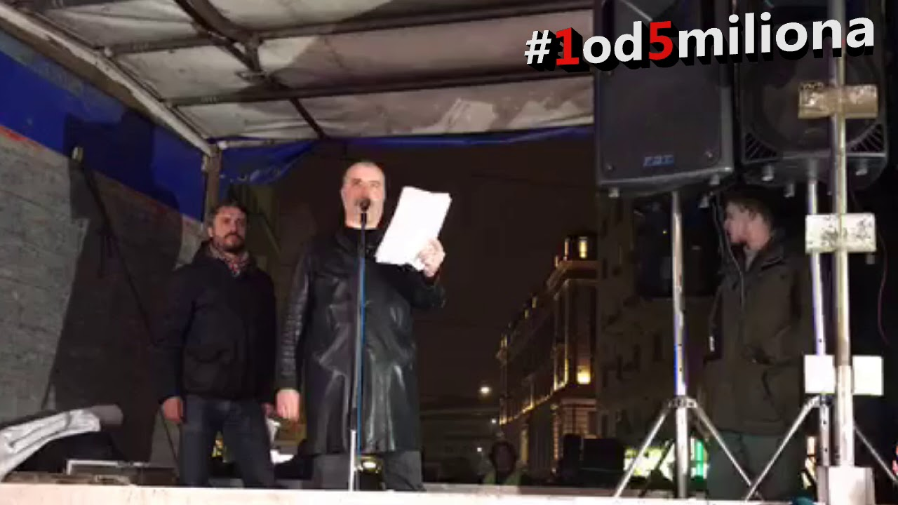 Nikola Kojo, protest 1od5miliona