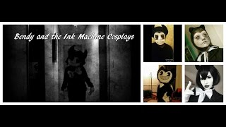 bendy and the ink machine cosplays musical ly compilations part 1