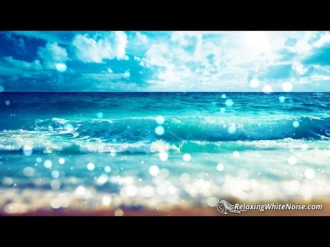Florida Beach Sounds for Relaxation  Ocean Waves White Noise to Help You Sleep, Study  10 Hours