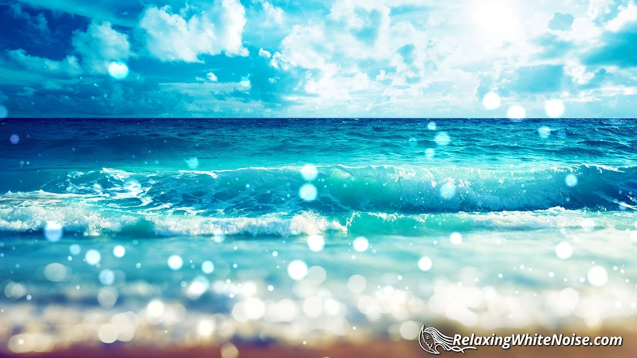 Wave Sounds For Sleep >> Florida Beach Sounds for Relaxation | Ocean Waves White Noise to Help You Sleep, Study | 10 ...