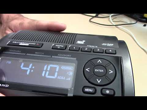 How Weather Radios Work, S.A.M.E. NWS Technology EAS Weather Alert