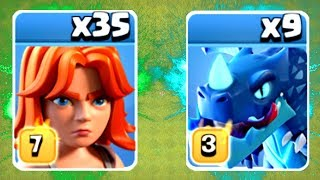 NEW RECORD TROOP COUNT! - Clash Of Clans - MASS TROOP STRATEGY!