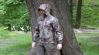 Видео обзор куртки тактической Soft-shell c капюшоном, цвет kryptec от