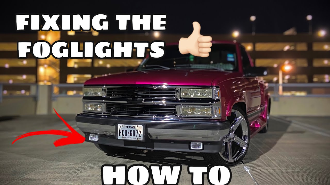 How To Fix Install Foglight S On A Obs Chevy Truck Pt 2 Obschevy Youtube