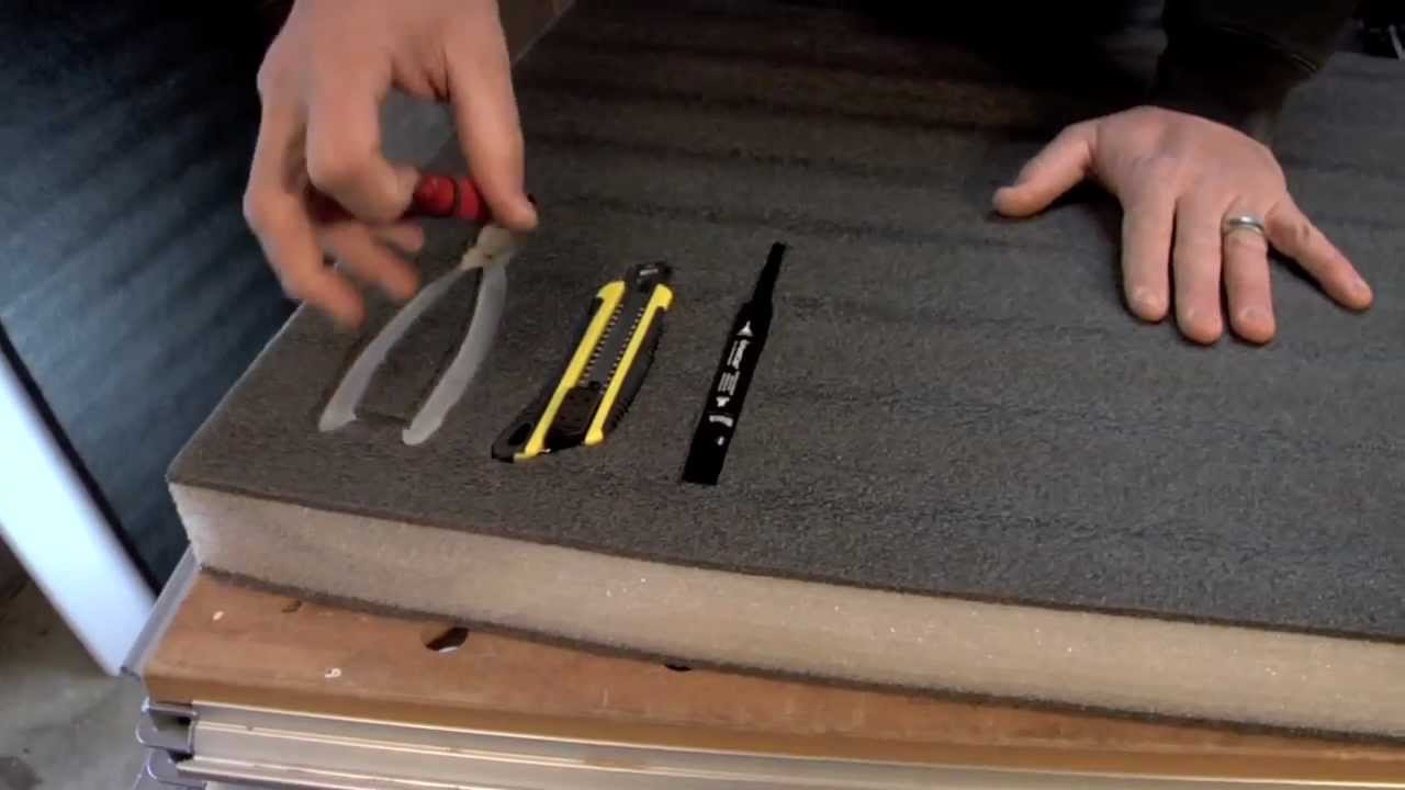 Foam Inserts For Tool Boxes