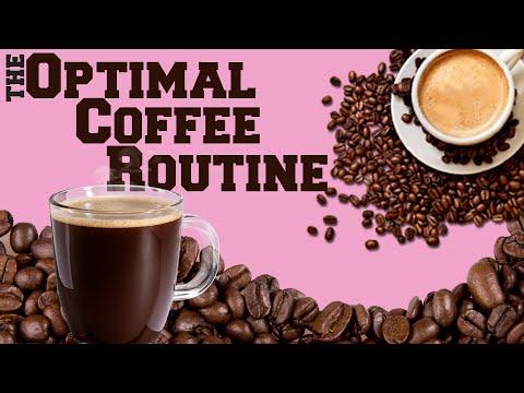 Optimal Coffee Routine