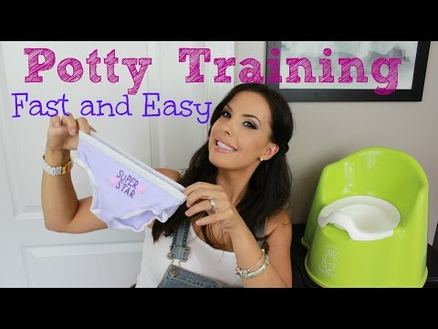 Potty Training FAST in 4 days