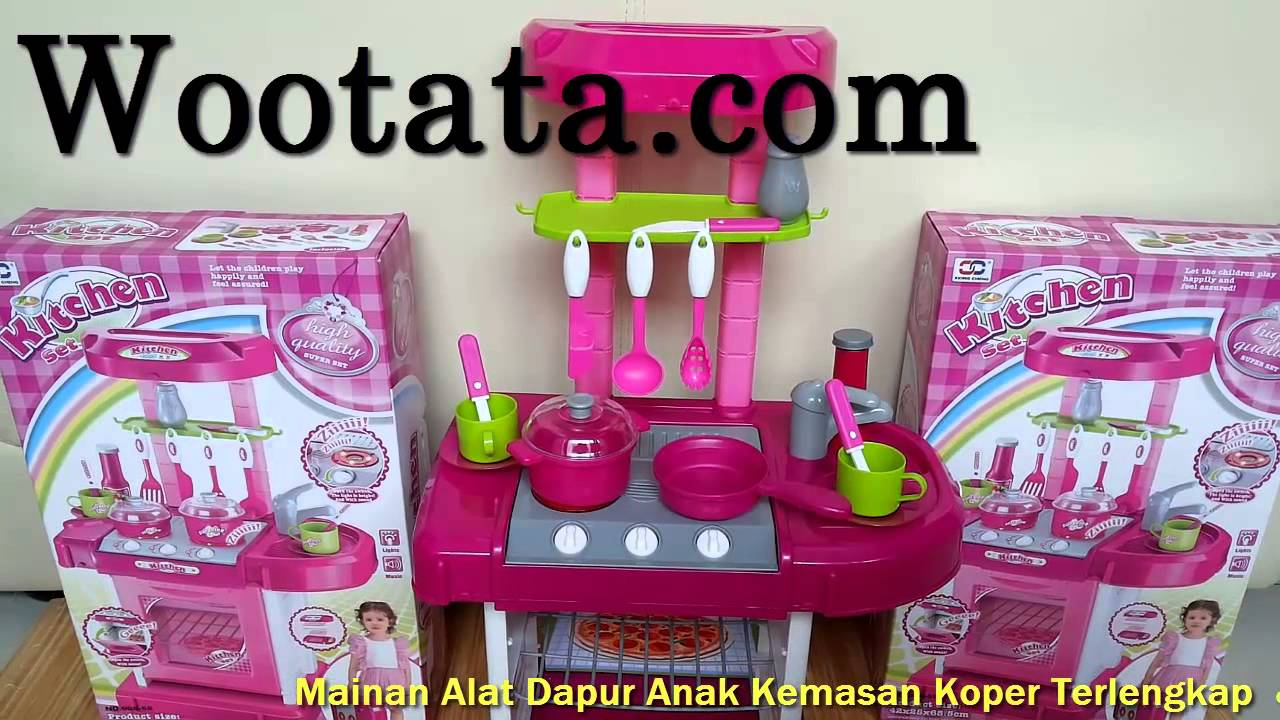 Mainan Kitchen Set Koper Termurah Youtube