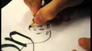 Tutorial para hacer letras góticas