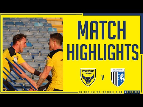 Oxford Utd Gillingham Goals And Highlights