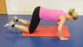 Box Press Up Exercise
