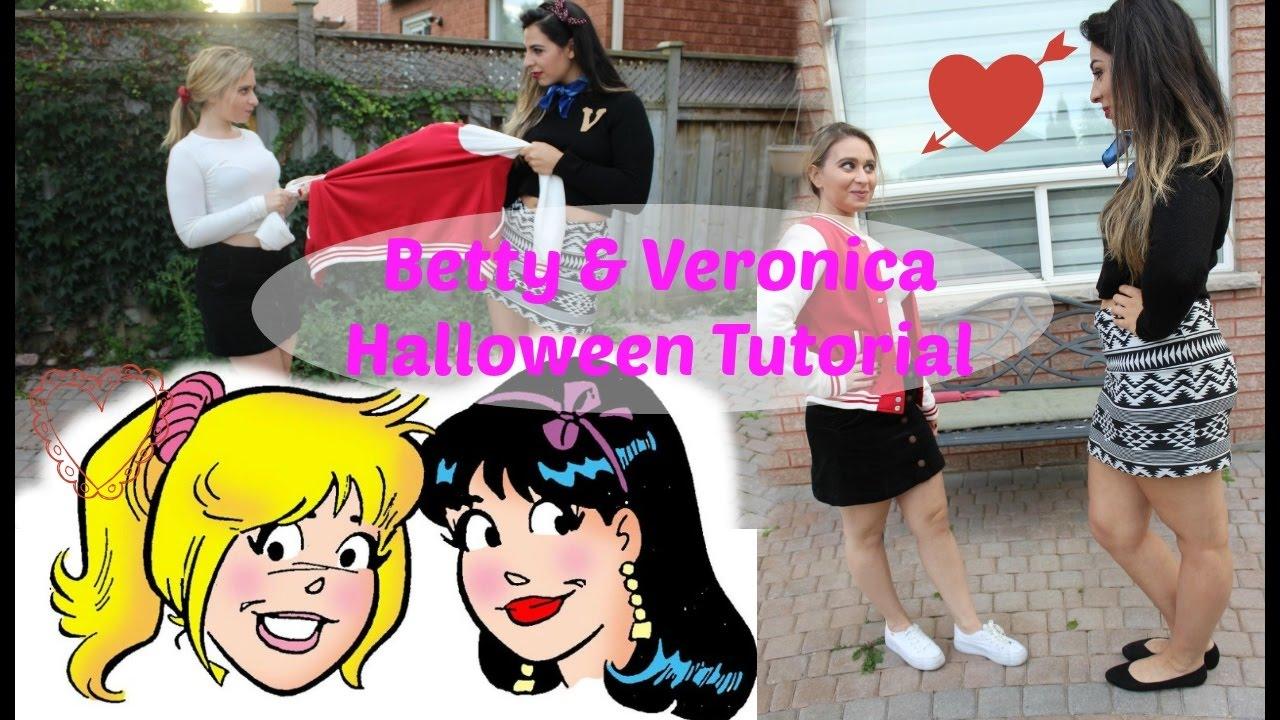 betty and veronica diy halloween bff costume