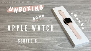 Apple Watch Series 6 Rose Gold Unboxing ⌚️