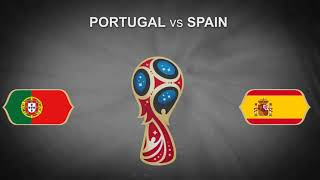 Portugal vs Spain FIFA World Cup 2018 june 15 Football PROMO