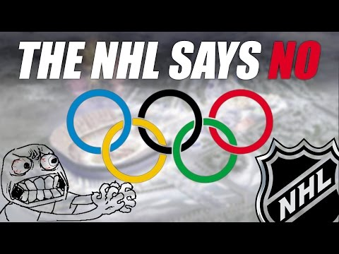 NHL Announces Players Will NOT Attend 2018 Olympics
