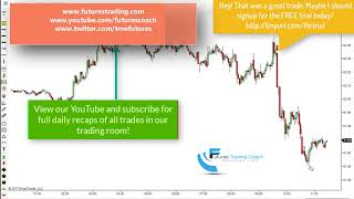 101717 -- Trade of the Day - Crude /CL PP Short Winner up to 60+ ticks!