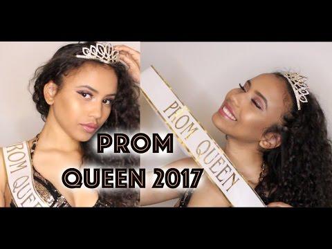 Winning Prom Queen : SENIOR PROM 2017 vlog