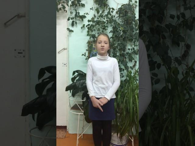 Изображение предпросмотра прочтения – ДарьяМихайлова читает произведение «Бородино» М.Ю.Лермонтова