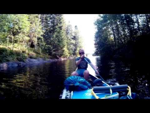 Sweden 2015: Canoeing Dalsland