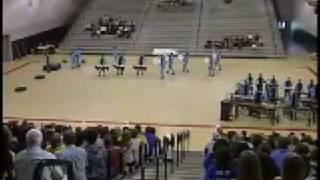 Millennium High School Winter Drumline WGAZ Championships 2008