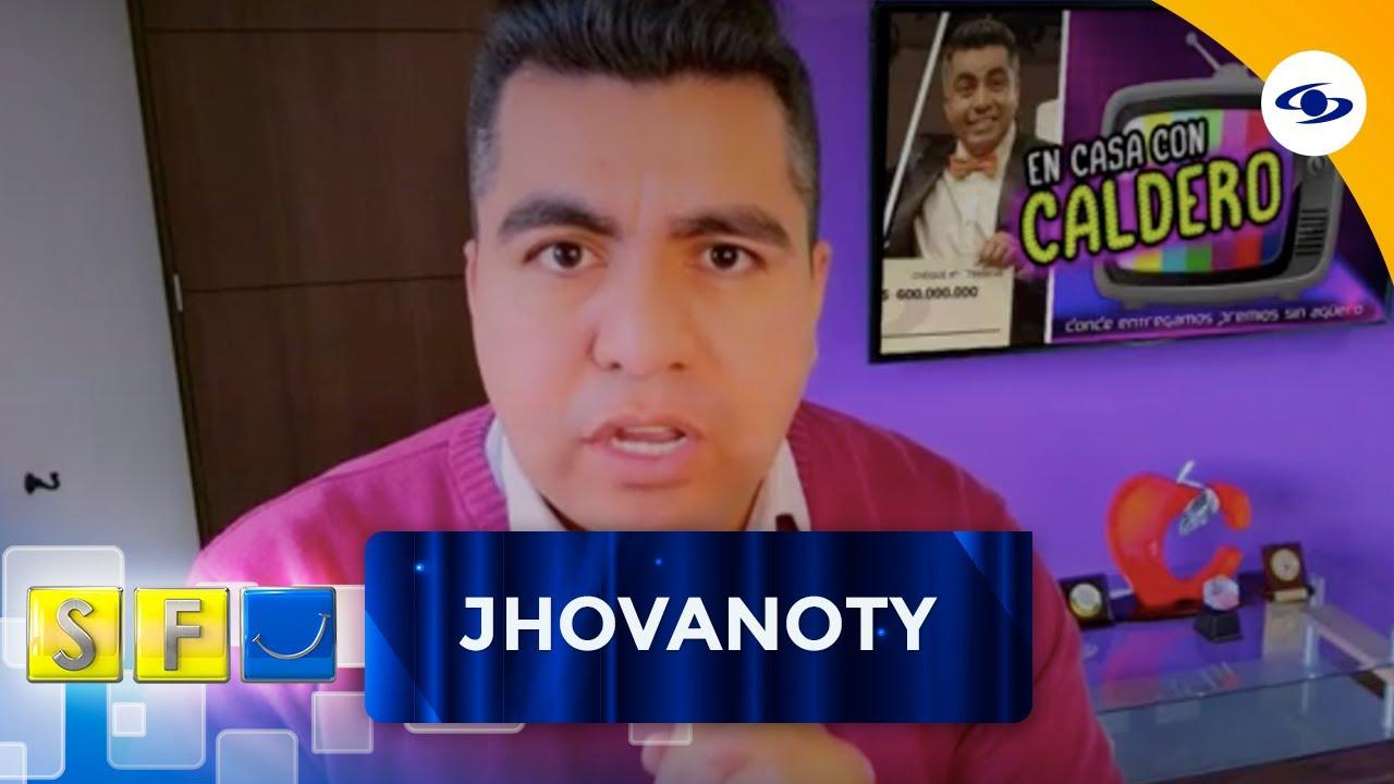 Jhovanoty te trae 'En casa con Caldero' con su mejor imitación del presentador