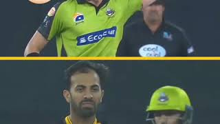 Who did it better? Shaheen Afridi Vs Wahab Raiz