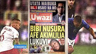 MAGAZETI ya leo October 16/2018 HABARI kubwa BILLION 1 yatolewa na familia ya Mo Dewji