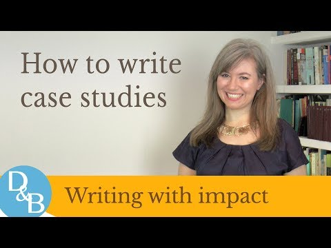 Видео How to make a case study