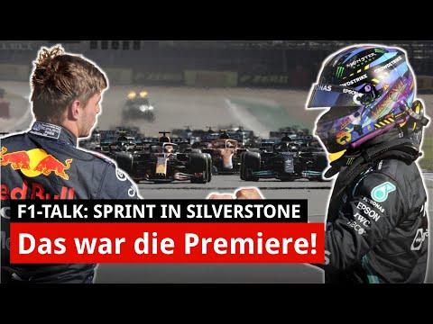 F1-Sprint: So hat Verstappen die Weltpremiere gewonnen! | Sprint F1 Silverstone 2021