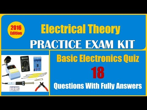 Basic Electronics Quiz Questions (18 Questions With Fully Answers)