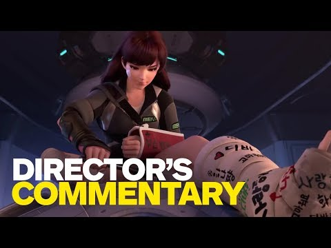 "Overwatch D.Va Animated Short  ""Shooting Star"" - Director's Commentary"
