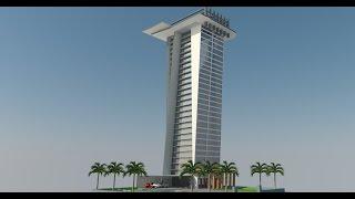 Google sketchup Speed Build 30 Floors Tower