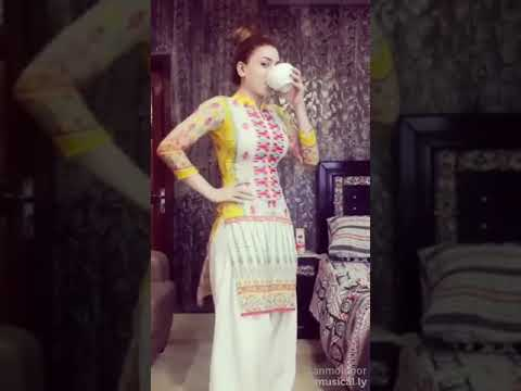 Hot Sexy Girls Funny Musically Video Pathan Film Dialogues