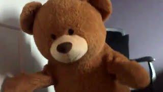 People Dance Inside Giant Stuffed Teddy Bears | What