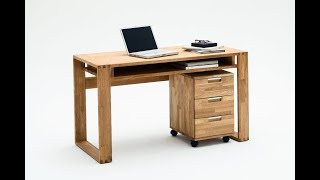Schreibtisch Und Rollcontainer Für Kinder Blau Tectake