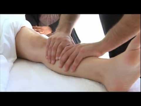 piernas masajes