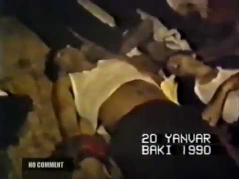 No Comment!.Baku 20 Black JANUARY 1990, Was A Violent Crackdown On A Civilian By The Soviet Army
