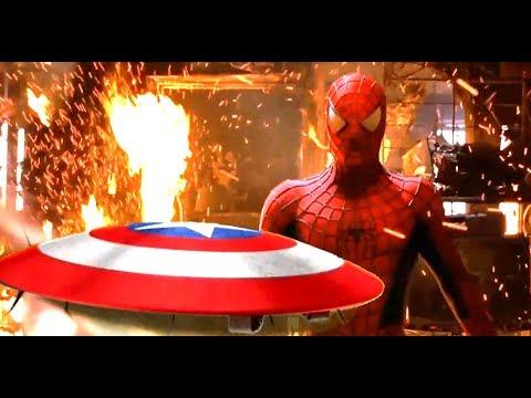 Captain America vs Tobey Maguire/Spider-Man ALTERNATE ENDING (Fan Edit)